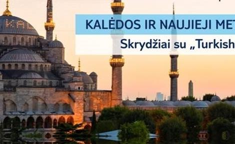 Naujieji metai Stambule! Išvykimas 12.31d.