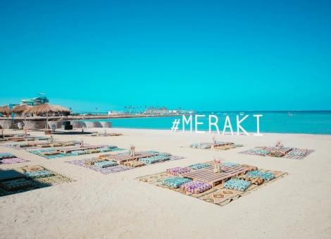Svajonių atostogos dviese Egipto viešbutyje MERAKI RESORT